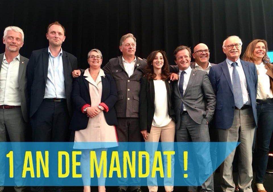 Anniversaire 1 an de Mandat des députés de la majorité présidentielle du Rhône