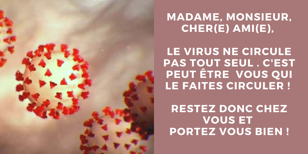 S'inscrire aux informations COVID-19