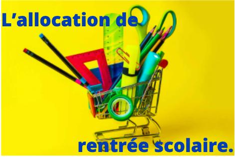 L'allocation de rentrée scolaire sera exceptionnellement majorée de 100€ pour aider les familles à faire face aux dépenses de la rentrée.