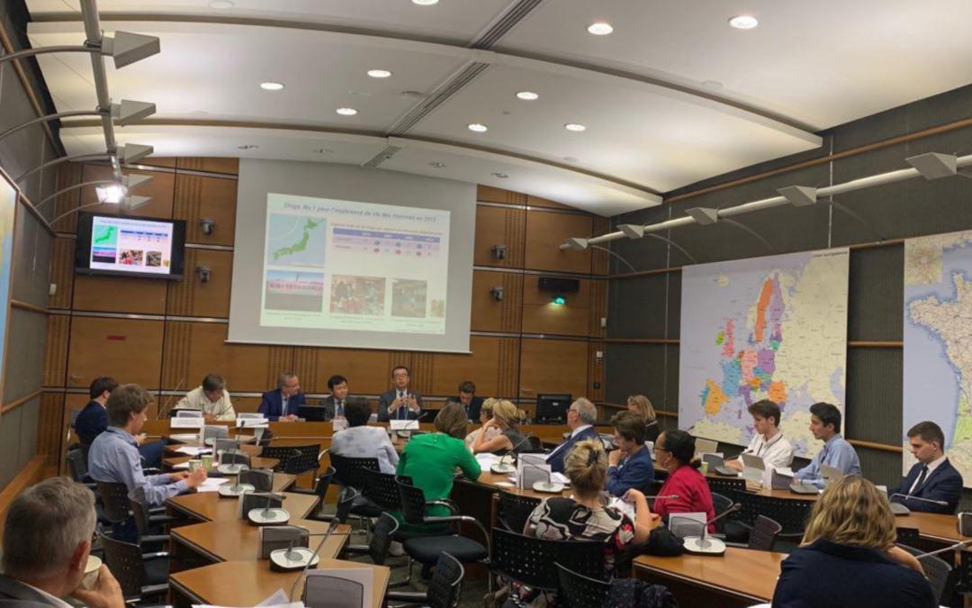 """Réunion inaugurale du groupe d'études """"prévention-santé"""" en présence de l'Ambassade du Japon"""