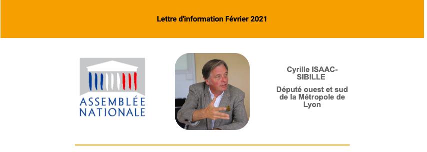 Lettre d'information Février 2021